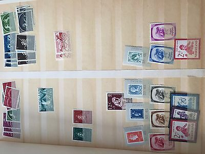 Netherlands good mint assortment of stamps, many top values spotted nice