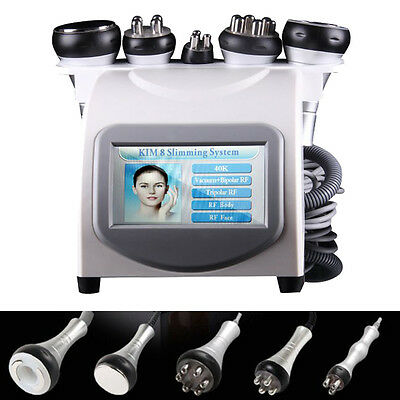5 in1 Ultrasonic Cavitation Radio Frequency Slim Machine Vacuum Body USA SELLER