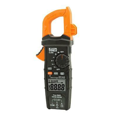 Klein Tools 600 Amp AC True RMS Auto-Ranging Digital Clamp Meter Electrical Tool