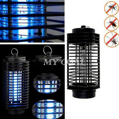 200V UV Light Flying Insect Killer Grill Mosquito Pest Fly Bug Zapper Trap Lamp