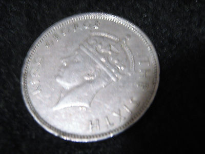 1950,s Mauritius One (1) Rupee Coin mixed dates