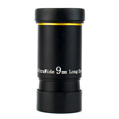 "1.25"" Ultra Wide Angle Eyepiece Lens 9MM 66 Degree for Astronomical Telescope"