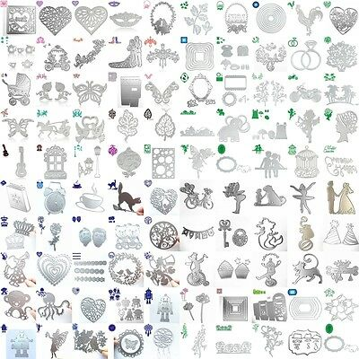 New 148 Type Metal Cutting Dies Stencil Scrapbook Paper Card Craft Embossing DIY