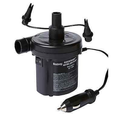 Car Electric Air Pump For Camping, Inflatable Sleeping Beds & MoreAC/DC Adapter