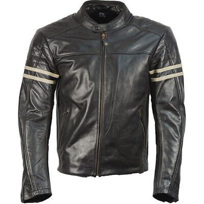 Richa Lincoln Leather D3O Motorcycle Motorbike Jacket - Brown