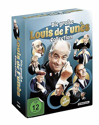 Die große Louis de Funès Collection [16 DVDs] NEU in Folie