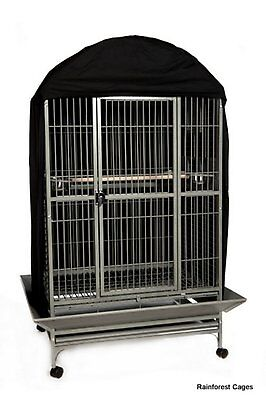 Bird Cage Cover Black Size 2 W61 x D61 x H102 cm.