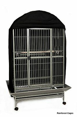 Bird Cage Cover Black Size 5 W91 x D76 x H152 cm.