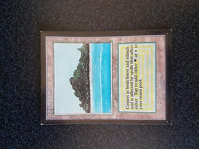 MTG TROPICAL ISLAND - ISOLA TROPICALE Magic - Collector's Edition -