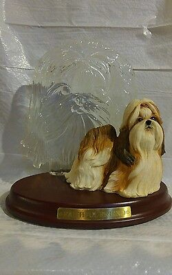 Bradford Exchange The Beautiful Shih Tzu Faithful Friend still in box with paper