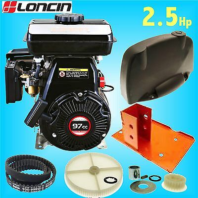 Loncin LC152F Engine Replacement Conversion kit Belle Minimix 150 Mixer (GHX50)