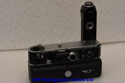 Nikon MD-2 Motor Drive with MB-1 battery pack GREAT CONDITION