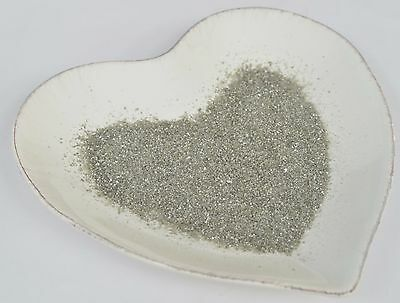 100% Edible Glitter Rainbow Dust Decanted SILVER Cake Decorating Sparkle