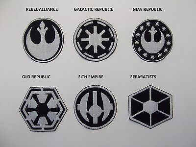 STAR WARS large sew on patches