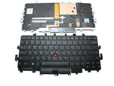 cdd0067da4a New Genuine Lenovo ThinkPad X1 Yoga 20FQ,20FR US Backlit Keyboard 00PA042