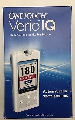 *NEW* OneTouch VERIO IQ Blood Glucose Monitoring System Diabetic Meter Monitor