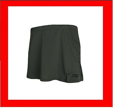 LARGE Li-Ning Ladies Womens Skort Sports shorts / skirt Adult skorts G036-100L