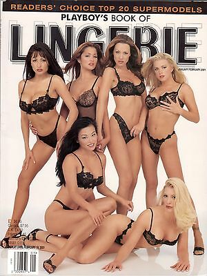PLAYBOY's Book Of LINGERIE January February 2001