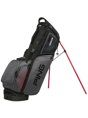 Ping Hoofer Stand Bag Black/Red