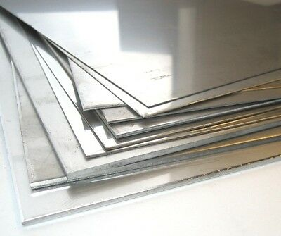 """Alloy 304, stainless steel plate, 2B mill finish - 10 GA  24"""" x 24"""""""