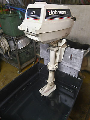 Johnson 4HP Outboard Engine