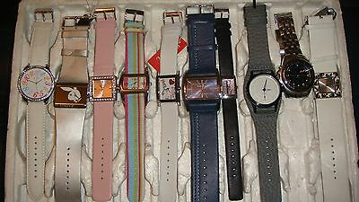 /trade Only Job Lot Of 10 X  Mixed Names  Watches 100% Gen    /,.