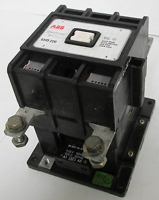 ABB EHD 220 Spectrum Solid State Drive Contactor 600VDC 220A