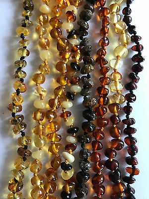 CERTIFIED Baltic Amber Necklace for Child, Baby, Toddler, pain relief