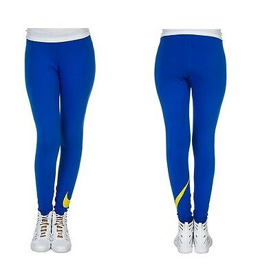 New Nike Women's Leggings/training/gym/blue/soft cotton/stretchy/yoga/gym/tight