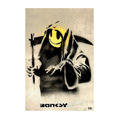 Banksy Domestic Poster