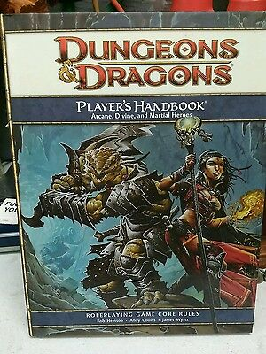 Dungeons and Dragons 4th Edition Player's Handbook