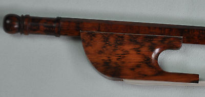 New good quality snakewood Baroque CELLO Bow Round 4/4 F12
