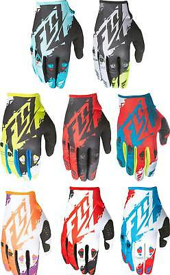 2017 Fly Racing Kinetic Gloves - MX ATV BMX Motocross Off-Road Dirt Bike Adult