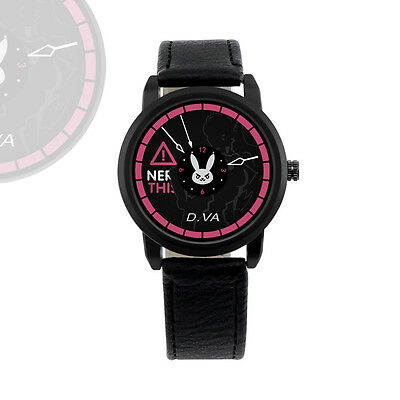 Overwatch D.VA Cute Wrist Watch Revolve Watch Waterproof Cool Watch