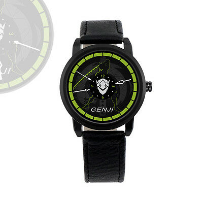 Overwatch Genji Wrist Watch Revolve Watch Waterproof Cool Watch
