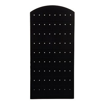 W6 Plastic Display Jewelry Ear Stud Earrings Holder Display Show Case Stand