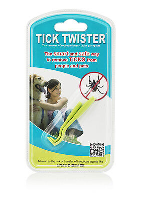 The original Tick Twister - Tick remover -  Pack of 2 hooks ( 1 small & 1 large)