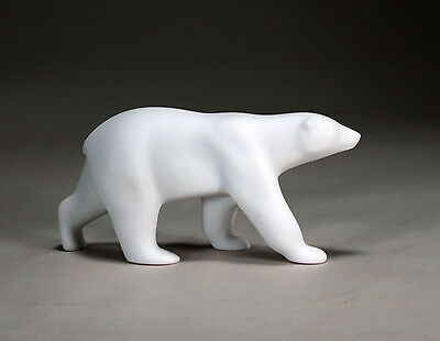 POLAR BEAR Statue New direct from JOHN PERRY 9in long Figurine Free Standing