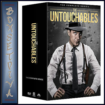 The Untouchables - Complete Series - Seasons 1 2 3 & 4 *Brand New Dvd Boxset***