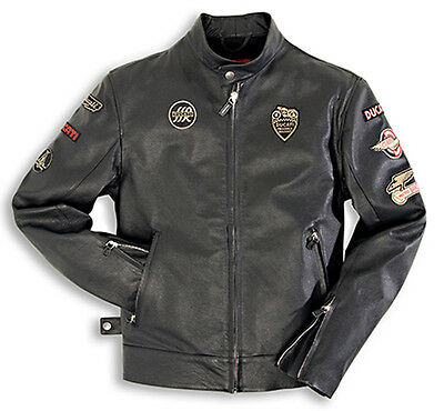 Ducati Giacca Jacket Pelle Dainese  Historical Donna  Size  44