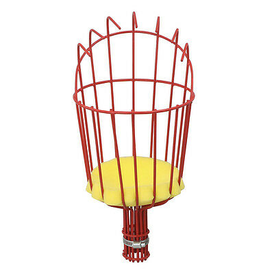 Fruit Picker Basket Fresh Orange for Broom Pole Stick Red S*
