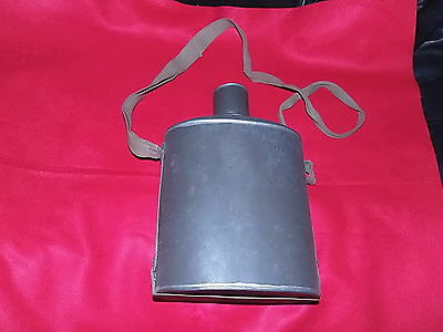 Original Ww2 Imperial Japanese Army Large Canteen-Vg