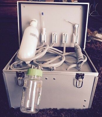 Dental Portable Dentist Unit W/upgraded Suction/ Usa Dental Co./ Ships Today!