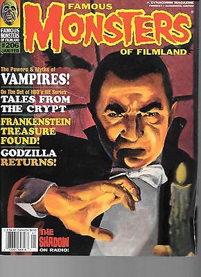 Famous Monsters #206 Vampires Tales from the Crypt Frankenstein Godzilla 1995