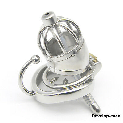 Latest Design Male Chastity Small Devices Stainless Steel C277-2