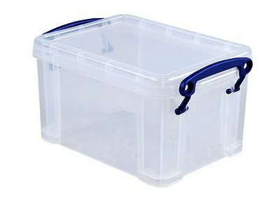 Really Useful 1.6 Liter Box, Clear