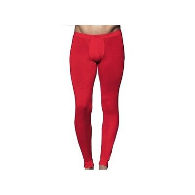 HOM CALECON LONG ROUGE taille FR/4 BUSINESS RED LONG UNDERPANTS US/M GB/34 EU/5