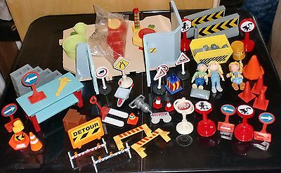 Bob the Builder Road Works Set with Figures & Signs