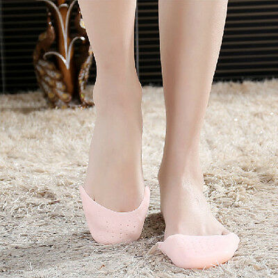 Ballet Pointe Dance Shoe Pads Cushions Toe Cap Cover Soft Silicon Gel Protector