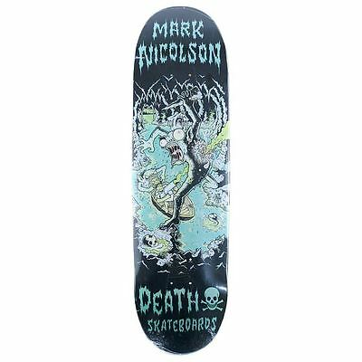 """Death Skateboards Nicolson Polluted Skateboard Deck 8.75"""" Free Grip & Delivery"""